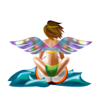 Surfing Angel