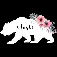 Blumentante Bear.Gifts für Tante. Camping Geschenke