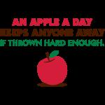 Ein Apfel am Tag, hält jeden weg!