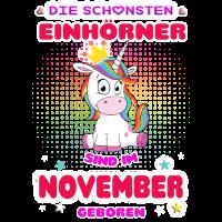 schoenste Einhoerner November