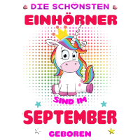 schoenste Einhoerner September