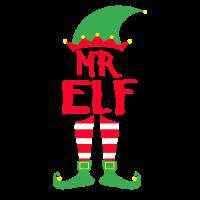 Mr. Elf - Weihnachten Familie Geschenk Xmas