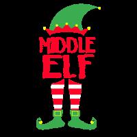 Middle Elf - Weihnachten Familie Geschenk Xmas