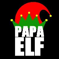 Dad Papa Elf - Weihnachten Familie Geschenk Xmas