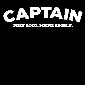 Captain. Mein Boot. Meine Regeln.
