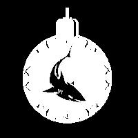Weihnachten Hai Kugel