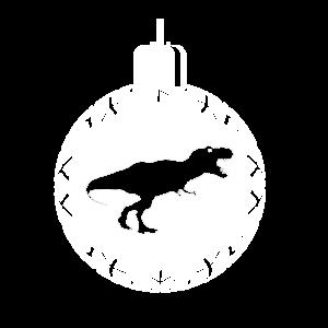 Weihnachten Dinosaurier Kugel