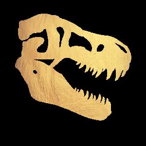 Goldener Dinosaurier