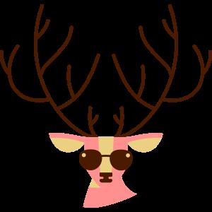 kühle Hirsche