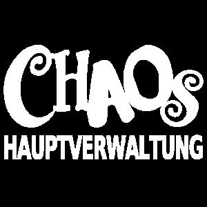Chaos Hauptverwaltung lustiger Spruch Mütter Papa