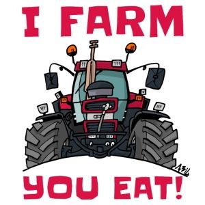 I farm you eat case