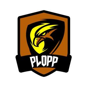 Plopp T-Shirt Emblem Vit