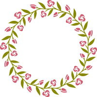 Wreath12A two colors CCC109