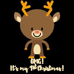 1. Weihnachten! Geschenke für Jungen & Mädchen. Deer