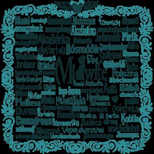 Hebamme International in 80 Sprachen
