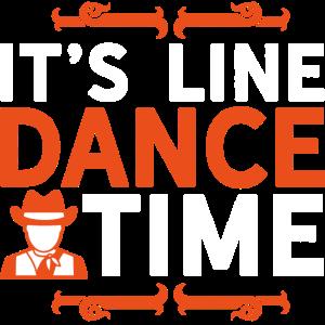 It's Line Dance Time LineDancing Geschenk