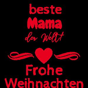 Beste Mama der Welt Weihnachten