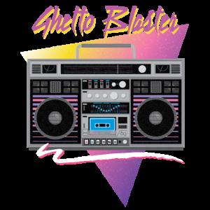1980s ghetto blaster