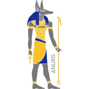 Der altägyptische Gott Anubis