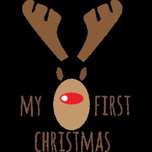 My First Christmas mit Rudolf
