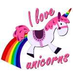 I love unicorns