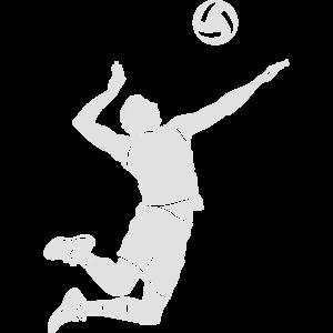 Volleyball-Spieler # 1
