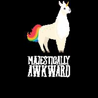 Majestically Awkward - Llamacorn