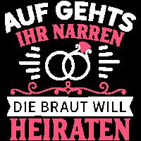 BRAUT / HOCHZEIT / FEIER / JUNGGESELLIN