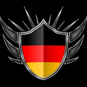 Deutschland Flagge Wappen 013