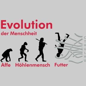 Cthuloide Evolution der Menschheit Vg001