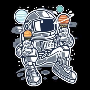 Astronauten-Eiscreme