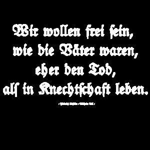 Schiller Zitat aus Wilhelm Tell
