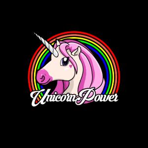 Einhorn Unicorn Power