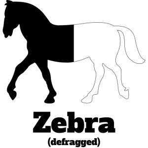 Zebra defragged