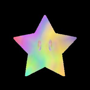bunter Stern