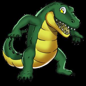 Süsses Krokodil