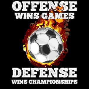 Fußball Offensive