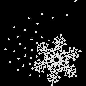 Herzige Schneeflocke