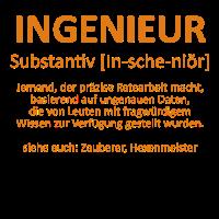 Ingenieur - Substantiv In-sche-niör (orange)