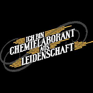 Chemielaborant aus Leidenschaft Geschenk