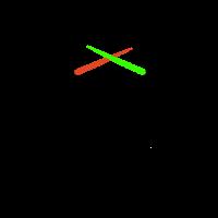 Stare mit Laserschwert