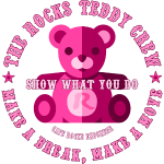 The Rocks Teddy Crew - Pink