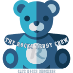 Rocks Teddy Bear - Blue