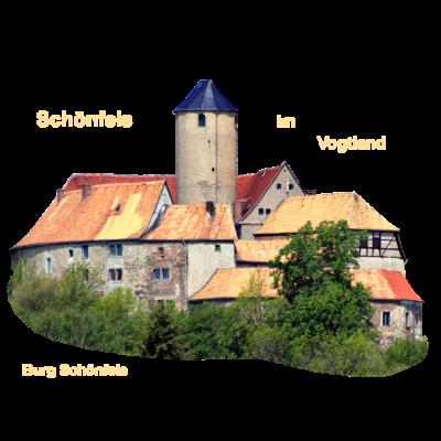 Schönfels Vogtland Zwickau - Die Burg Schönfels geriet im 13. Jahrhundert unter vögtische Herrschaft.  - Zwickau,Wettiner,Vogtland,Schönfels,Burg Schönfels