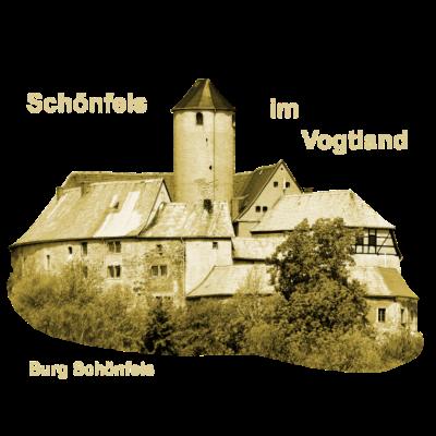 Burg Schönfels Vogtland Zwickau  - Die Burg Schönfels geriet im 13. Jahrhundert unter vögtische Herrschaft.  - Zwickau,Wettiner,Vogtland,Burg Schönfels