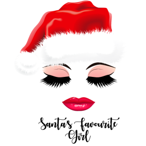 Santa's Favorite Girl.Weihnachtsparty. Mädchen.VERKAUF