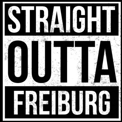 Straight Outta Freiburg - Straight Outta Freiburg - deutsche,cool,Weihnachten,Straight,Statement,Stadt,Spruch,Shirt,Rap,Lustig,Hop,Hometown,Hip,Heimatstadt,Heimat,Geschenk,Geburtstag,Gangster,Freiburg,Deutschland,Design,Crew,City