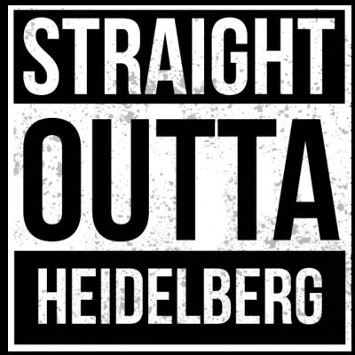 Straight Outta Heidelberg - Straight Outta Heidelberg - deutsche,cool,Weihnachten,Straight,Statement,Stadt,Spruch,Shirt,Rap,Lustig,Hop,Hometown,Hip,Heimatstadt,Heimat,Heidelberg,Geschenk,Geburtstag,Gangster,Deutschland,Design,Crew,City