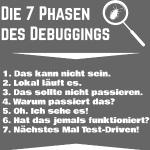 Die 7 Phasen des Debugging