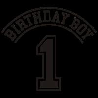 Birthday boy 1 jahre